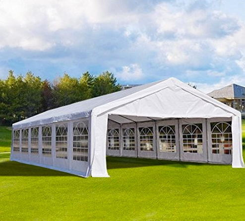 40x20 Heavy Duty Party Tent by PeakTop - Wedding/Car Shelter/Canopy ... & 40x20 Heavy Duty Party Tent by PeakTop - Wedding/Party/Gazebo ...