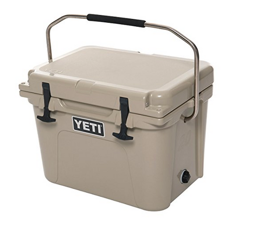 Roadie 20 Cooler by Yeti - Desert Tan, IceBlue, White