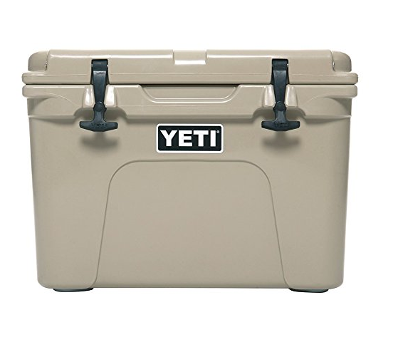 Tundra 35 Cooler by Yeti - Desert Tan, IceBlue, White