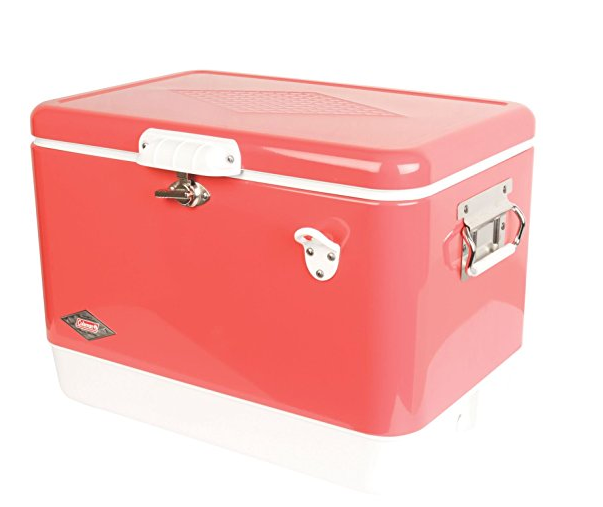 54-Quart Steel-Belted Cooler by Coleman - Assorted Colors