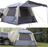 Melfi Plus SUV and Truck Tent by KingCamp - 3 Seasons - 5 Persons