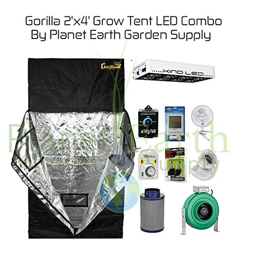 2 x 4 Grow Tent Kit by Gorilla Grow Tents