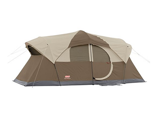 10 Person Brown Weathermaster Tent by Coleman