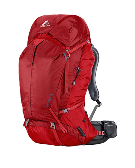 Baltoro 75 Backpacking Backpack by Gregory - Blue, Black, Red