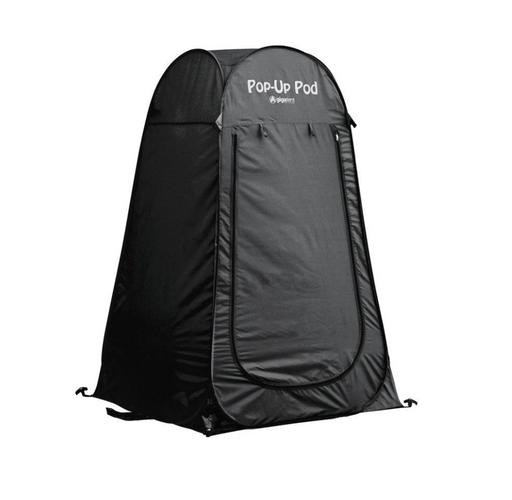 Black Portable Pod Tent by GigaTent - Changing Tent