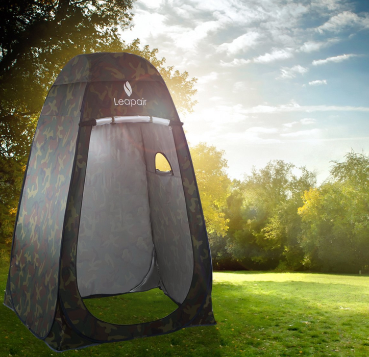Camo Pop Up Pod Privacy Tent by WolfWise