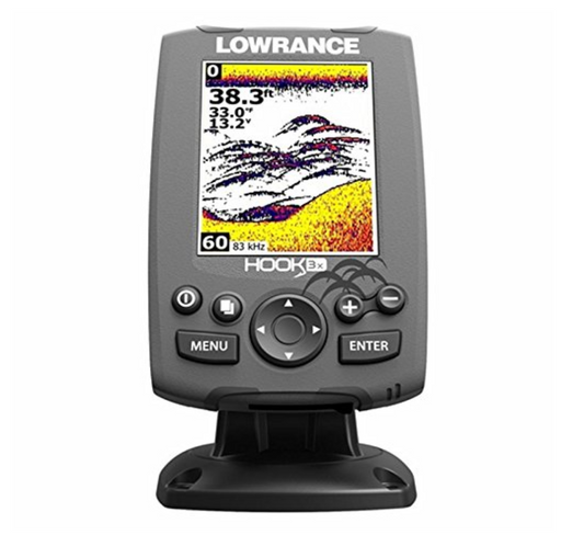 Cheap GPS Fish Finder by Lowrance - Colorized