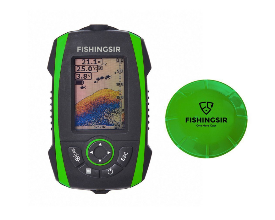 Portable Fish Finder by Fishingsir - Wireless