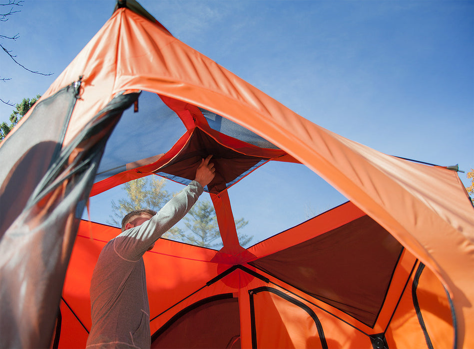 4-Person Pop Up Camping Tent by Gazelle - T4