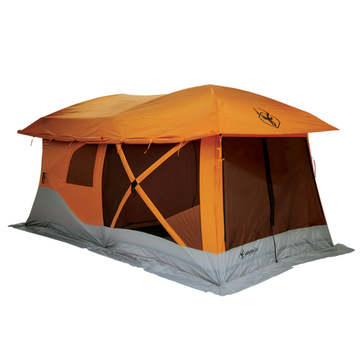 8-Person Pop Up Camping Tent by Gazelle - T4 Plus
