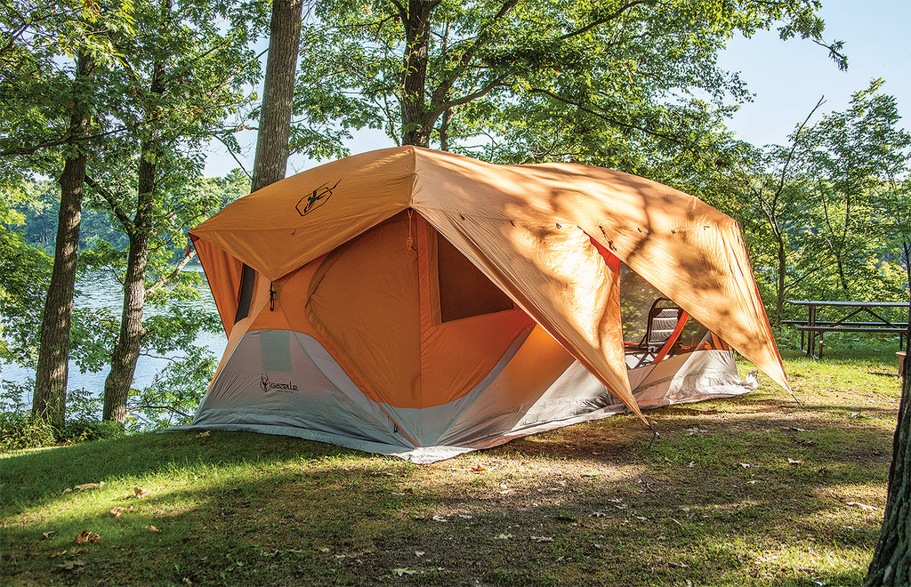 8 Person Pop Up Camping Tent By Gazelle T4 Plus Tentsy