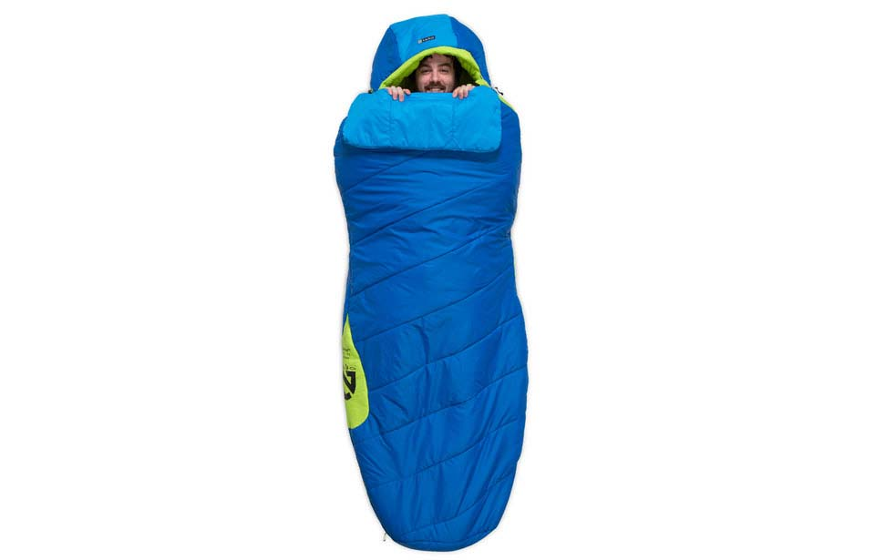 Verve Spoon Style Sleeping Bag by Nemo - 3-Seasons