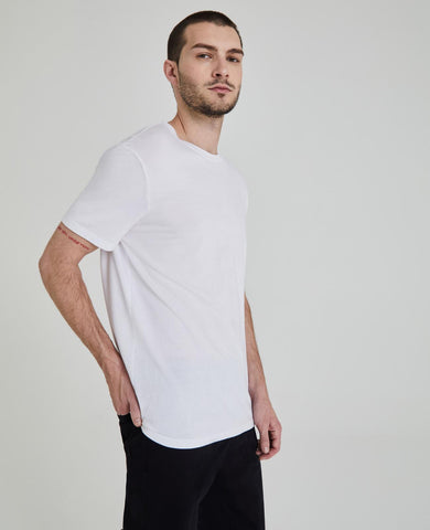 AG Men's Bryce Crew - White