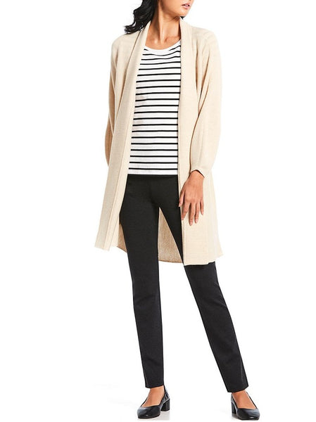 Eileen Fisher Long Bracelet Cardigan With Sleeve Detail AFH