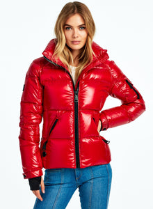SAM Freestyle Down Jacket in Candy Red