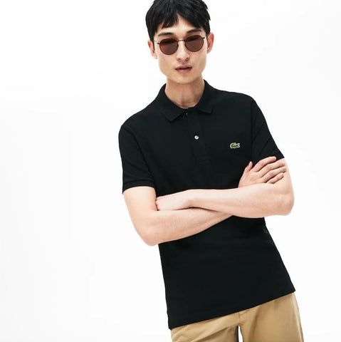 Lacoste Slim Fit Polo - Black