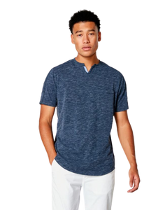 GoodMan Brand SS Victory V-Notch Tee Navy Heather