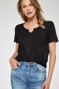 Project Social T 3918-KM Suzie Shirttail Tee