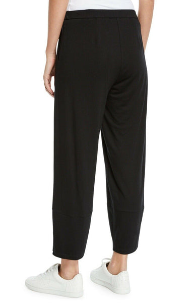 Eileen Fisher Lantern Ankle Pant - Black