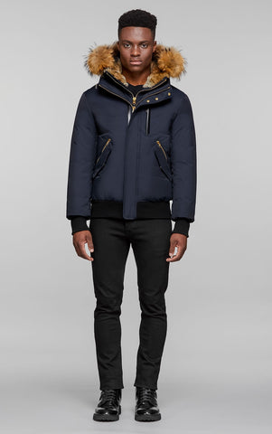Mackage Men's Dixon Down Bomber - Navy