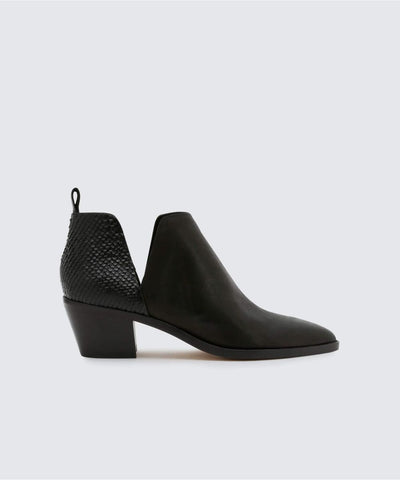 Dolce Vita Sonni Leather Bootie in Black
