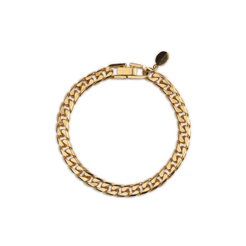 Cuchara Mina Cuban chain link bracelet in gold