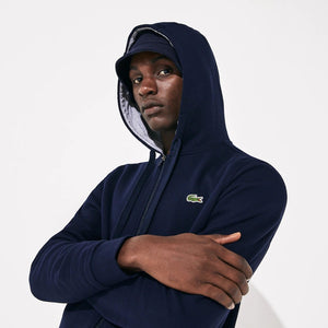 Lacoste Men's Sport Hoodie Fleece Tennis Sweatshirt SH7609-52