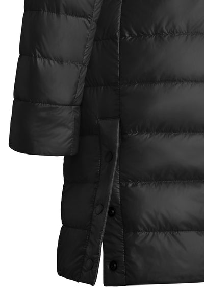 Canada Goose Women's Cypress  Hooded Jacket Black Disc - Black