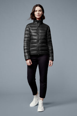 Canada Goose Women's Cypress Jacket Black Disc - Black