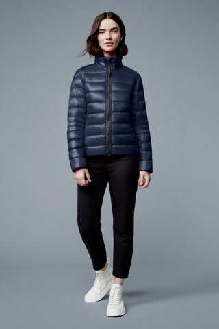 Canada Goose Women's Cypress Jacket Black Disc - Atlantic Navy