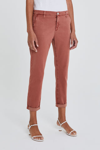 AG Caden Cropped Tailored Trouser in Canyon Clay