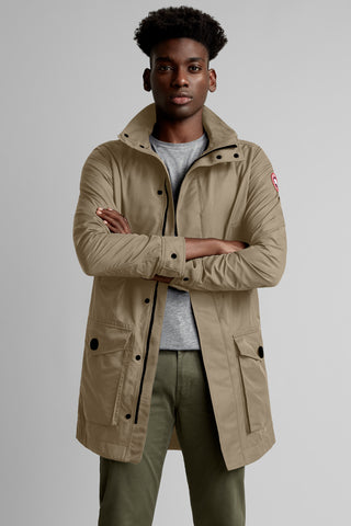 Canada Goose Men's Crew Trench - Clay