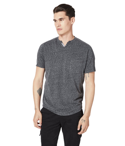 GoodMan Brand SS Victory V-Notch Tee Charcoal Heather