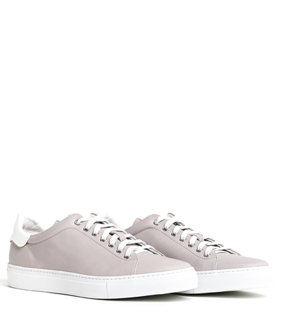 GoodMan Brand LEGEND-LO Top Sneaker -  Silver