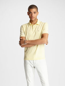 John Varvatos KNOXVILLE S/S PEACE POLO Lemon