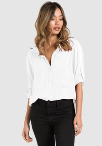 bella dahl L/S Shirt Tail Button Down B2184-669-302
