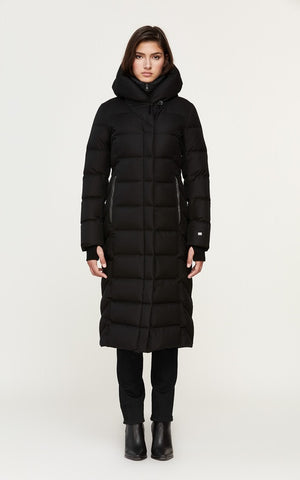 Soia&Kyo Talyse Maxi-Length Brushed Down Hooded Coat