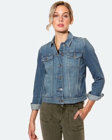Paige Rowan Denim Jacket in Stark