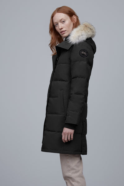 Canada Goose Women's SHELBURNE Parka Black Label - Silverbirch, Black or Navy