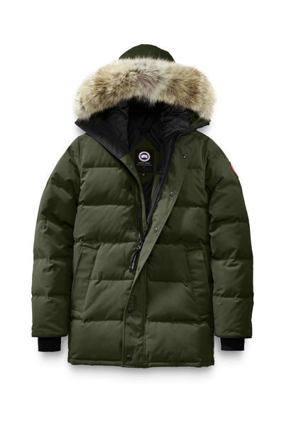 Canada Goose Men's CARSON Parka - Black, Graphite, Military Green, Admiral Blue, Northern Night & Navy