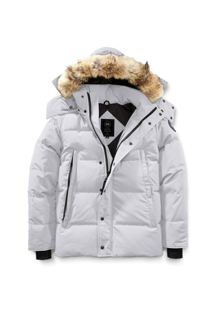 Canada Goose Men's Wyndham Parka Black Label - Silverbirch, Black, Titanium