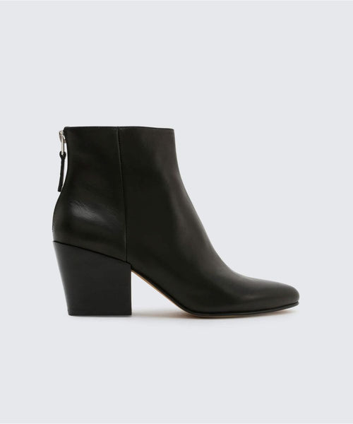 Dolce Vita Coltyn Back Zip Bootie - black