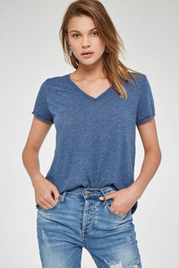 Project Social T 5917-3E Unforgettable Textured V Tee
