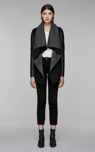 Mackage VaneF8 Lux Wool Waterfall Collar Jacket