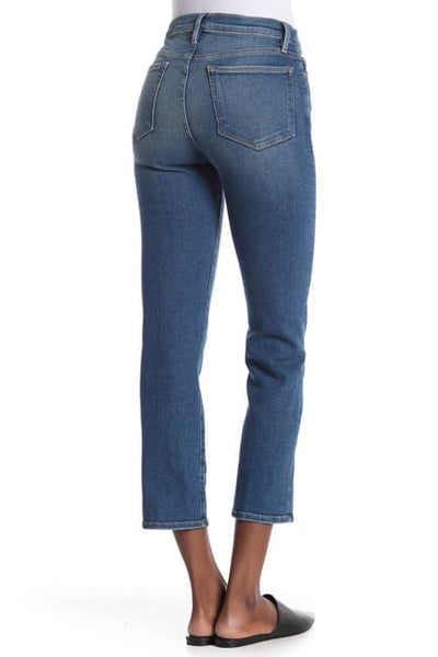 FRAME Le Nouveau Straight Jean in Rodeo Blue