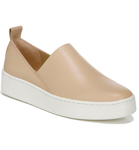 Vince Saxon Leather Slip-on Sneaker