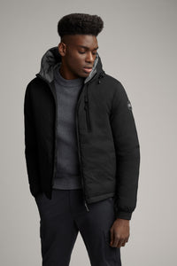 Canada Goose Men's Lodge Down Hoody  Black Label - Black Shine