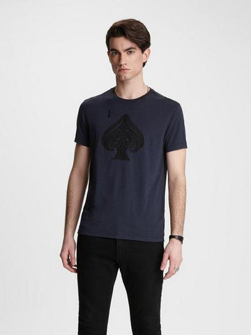 John Varvatos Ace of Spades Graphic Tee