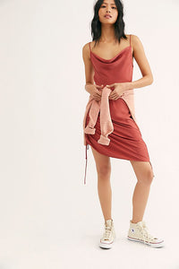 Free People Day to Night Solid Slip Dress
