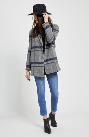 Gentle Fawn Desmond Plaid Coat